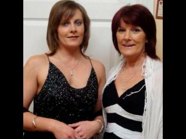 Donna Fox pictured with her now deceased mother Catherine
