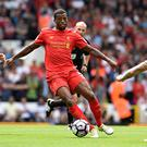 Georginio Wijnaldum of Liverpool during the Premier League match between Tottenham Hotspur and Liverpool at White Hart Lane on August 27, 2016 in London, England. (Photo by Andrew Powell/Liverpool FC via Getty Images)