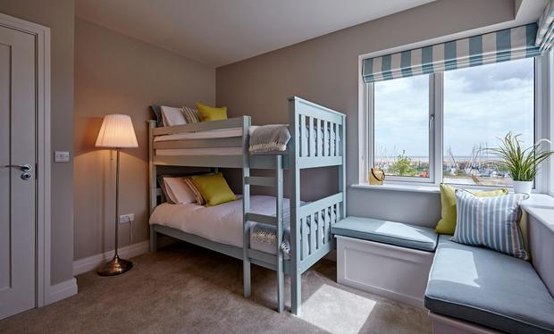 Marina Village Greystones bedroom
