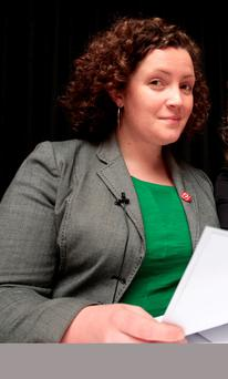 Councillor Eilis Ryan called the posters 'disgusting'