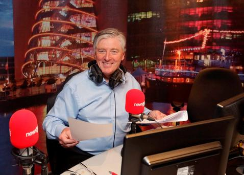 Pat Kenny in the Newstalk studio. Photo: Damien Eagers
