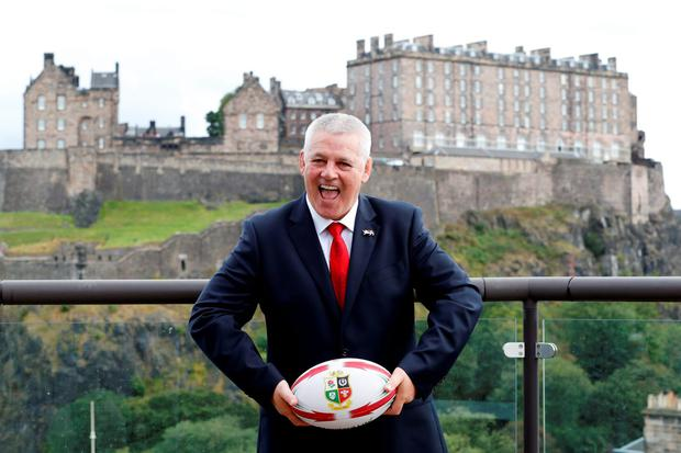 British & Irish Lions head coach Warren Gatland. Pic: Reuters