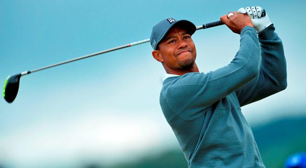 US golfer Tiger Woods. Photo: Glyn Kirk/AFP/Getty Images