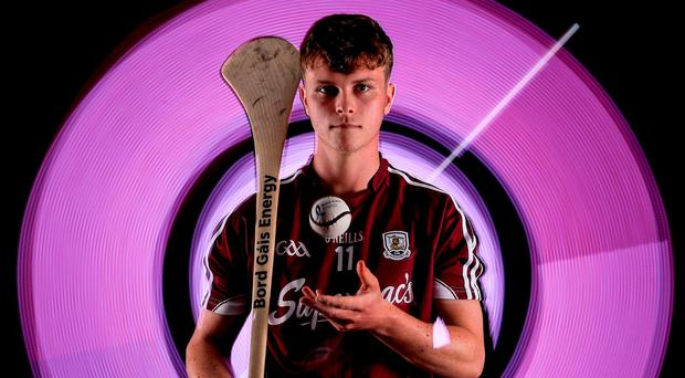 Galway's Brian Molloy, who will face Waterford in Saturday's All-Ireland U-21 final, has gained valuable senior inter-county exposure. Photo: Ramsey Cardy/Sportsfile