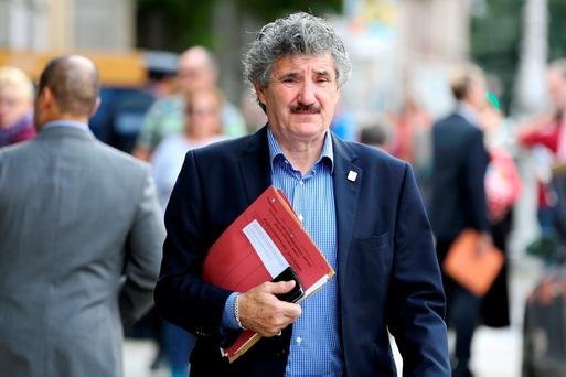 Junior minister John Halligan. Pic Tom Burke