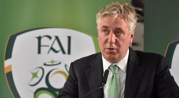 Controversial FAI chief executive John Delaney. Picture: Cody Glenn / SPORTSFILE