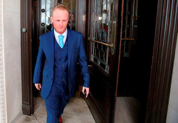Loyalist blogger Jamie Bryson. Photo: PA