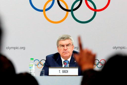 IOC's Hickey declines questions on ticket scalping in Rio