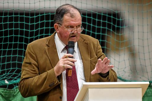 Bernard J O'Byrne, secretary general of Basketball Ireland. Picture credit: Barry Cregg / SPORTSFILE