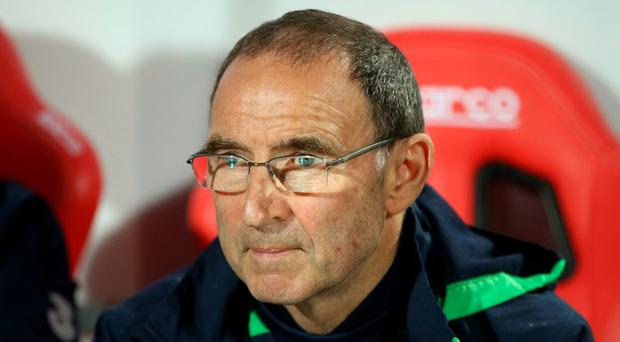 Republic of Ireland manager Martin O'Neill. Photo: Marko Djurica/Reuters