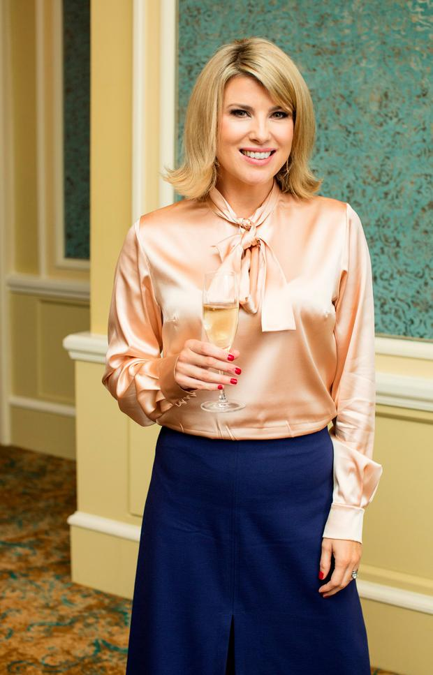 Jenny Buckley at the annual ISPCC Brown Thomas Fashion Show and Luncheon at the Intercontinental Hotel in Ballsbridge. Picture: Anthony Woods