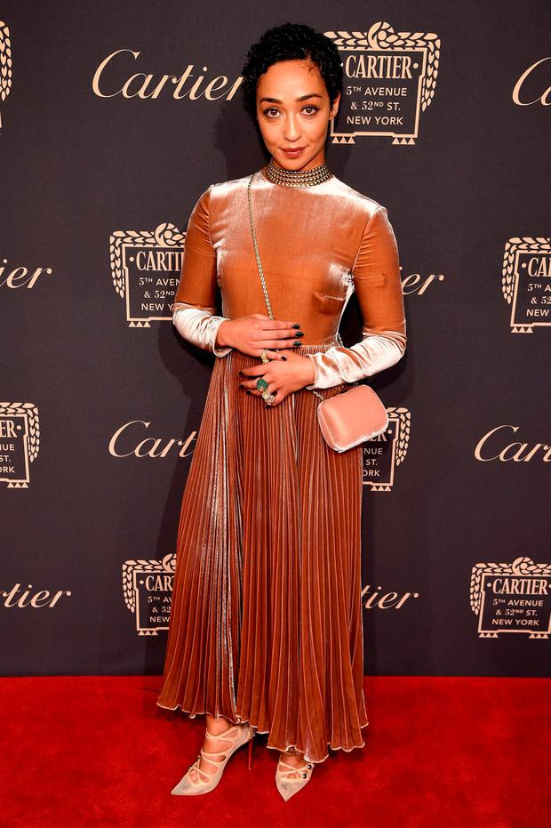 Actor Ruth Negga attends the Cartier Fifth Avenue Grand Reopening Event at the Cartier Mansion on September 7, 2016 in New York City. (Photo by Dimitrios Kambouris/Getty Images for Cartier)
