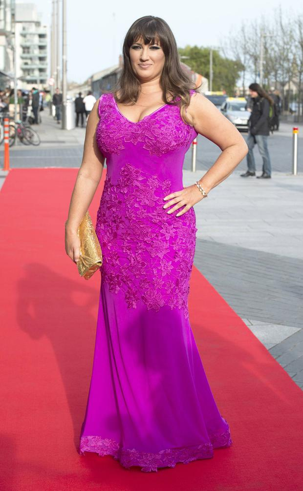 Elaine Crowley at the VIP Style Awards 2016