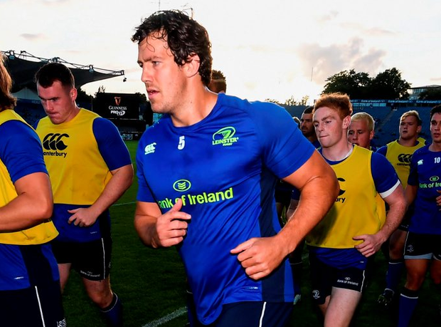 Leinster's Mike McCarthy. Photo: Stephen McCarthy/Sportsfile