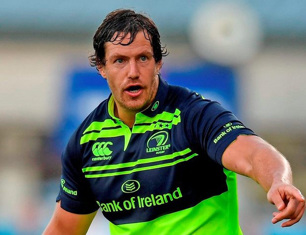 Leinster's Mike McCarthy of Leinster during the Pre-Season Friendly match between Leinster and Bath at Donnybrook Stadium. Photo: Stephen McCarthy/Sportsfile