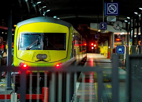 A wheelchair user has criticised Iarnród Éireann after she claimed a train driver refused to put down the ramp because they 'weren't trained to do so'. Pic: Collins Photos.