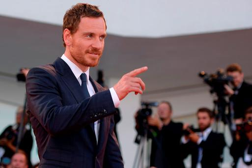 Michael Fassbender. GETTY