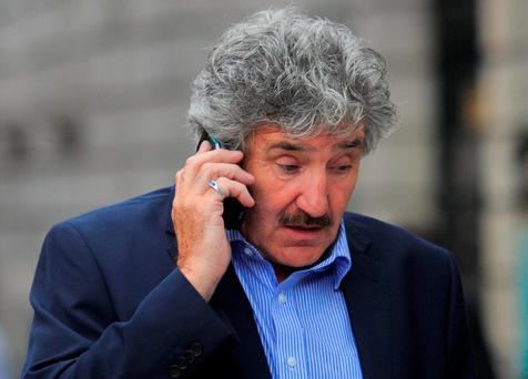 Beleaguered junior minister John Halligan: digging in on cardiac service review. Photo: Gareth Chaney Collins