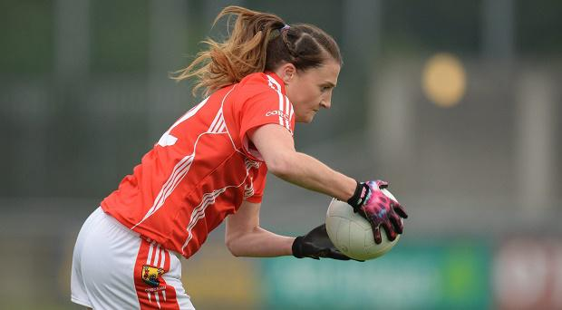 7 May 2016; Annie Walsh, Cork. Lidl Ladies Football National League, Division 1, Final, Mayo v Cork. Parnell Park, Dublin. Picture credit: Piaras Ó Mídheach / SPORTSFILE
