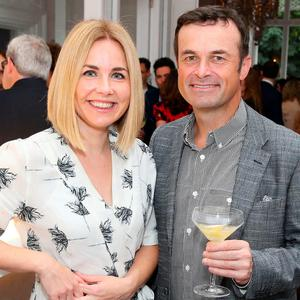 Taragh Loughrey Grant and Declan Butler at the launch of the fifth annual Cliff Townhouse Oyster Festival. Picture: Marc O'Sullivan