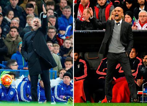 Jose Mourinho and Pep Guardiola go to battle again this weekend
