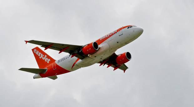 The incident caused the easyJet flight to be delayed. File picture