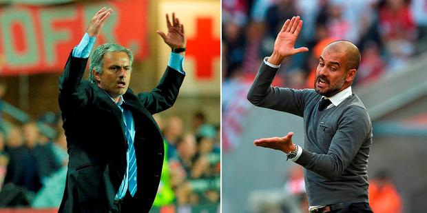 Jose Mourinho and Pep Guardiola renew their rivalry tomorrow