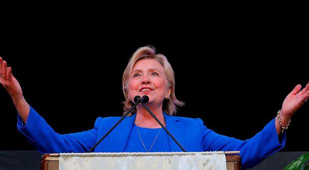 U.S. Democratic presidential candidate Hillary Clinton speaks to the Annual Session of the National Baptist Convention in Kansas City, Missouri, United States September 8, 2016