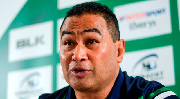 Pat Lam is expecting a massive improvement after Connacht's shaky start in their Guinness Pro12 title defence. Photo: Ramsey Cardy/Sportsfile