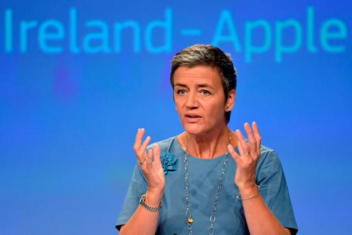 Europe's Competition Commissioner Margrethe Vestager. Photo: Reuters