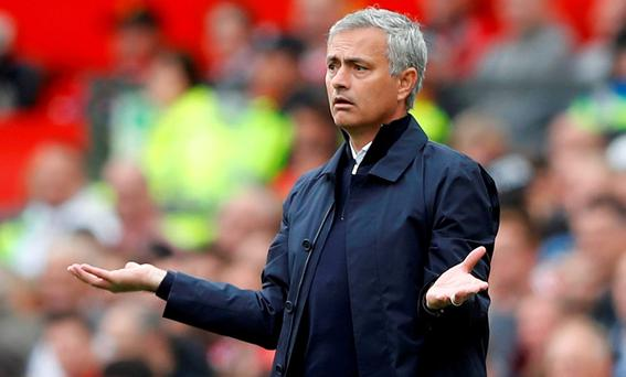 Manchester United manager Jose Mourinho Action Images via Reuters / Carl Recine