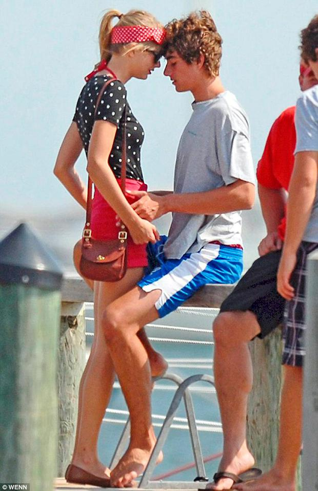 Taylor with Conor Kennedy