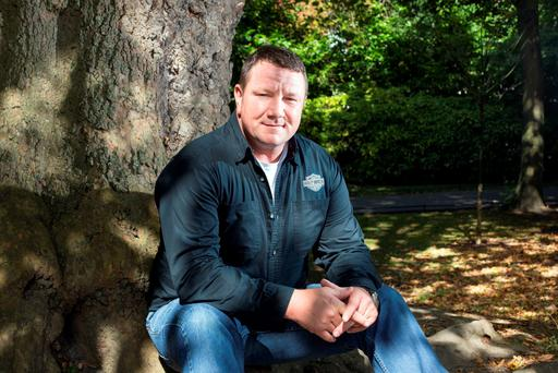 James Clancy is now working to raise awareness of the 'Silent Killer' among women. Photo: Tony Gavin