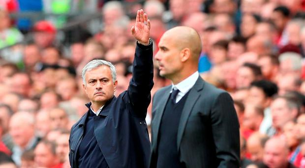'For a club with United's ambitions, it was startling to hear Jose Mourinho complain that some of his players could not cope with the derby pressures' Photo: PA