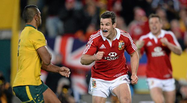 Jonathan Sexton played a huge part in the series victory over Australia in 2013