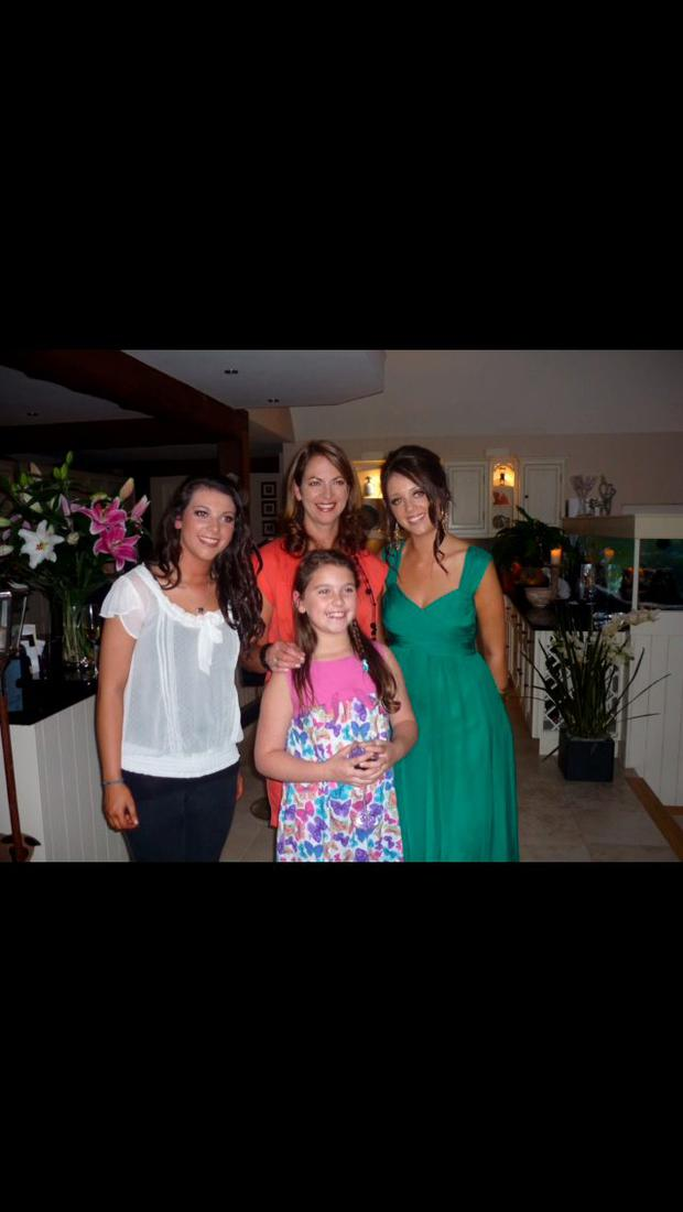 Adrienne was much loved by her three daughters Jade, Hollie and Sophie