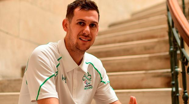 Irish Paralympic Team member Michael McKillop