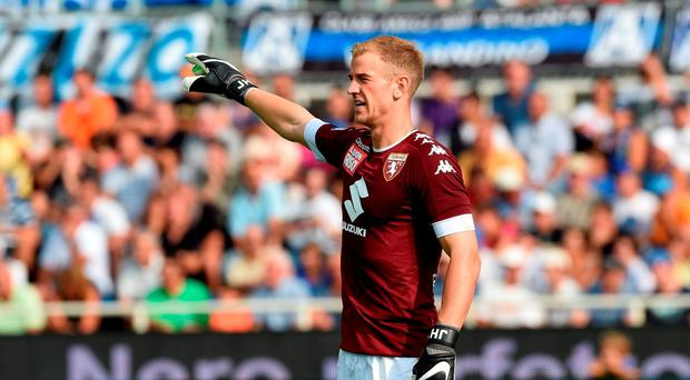 Joe Hart made his Torino debut today but had a moment to forget