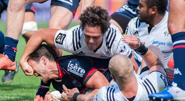 Brive flyhalf Matthieu Ugalde could be in big trouble for this