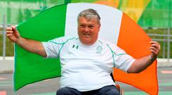 Twomey will not be able to sail at the next Games as the sport has been dropped for Tokyo. Photo by Diarmuid Greene/Sportsfile