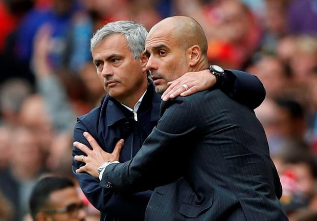 Jose Mourinho and Pep Guardiola must face-off again