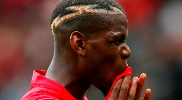 Disappointing: Paul Pogba Photo: Alex Livesey/Getty Images