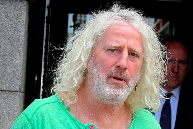Mick Wallace. Pic Tom Burke