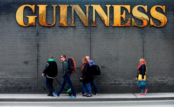 British tourists in Ireland spent 12% less this summer because of the drop in the value of sterling against the euro. Photo: Niall Carson/PA Wire