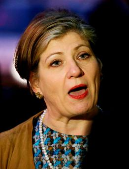 Shadow foreign secretary Emily Thornberry. Photo credit: Yui Mok/PA Wire
