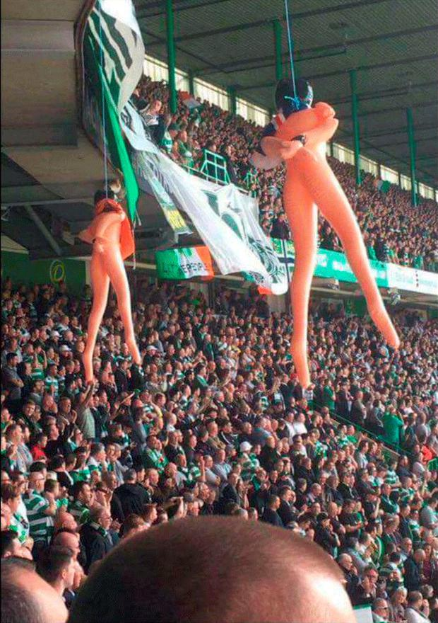 Picture taken at Parkhead on Saturday