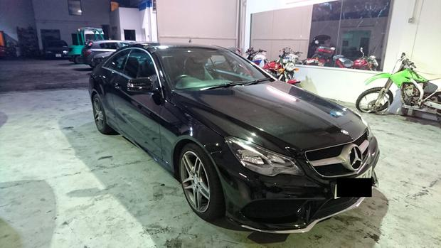 0a972dc5b1 A Joint investigation between Op Waste   the Stolen Vehicle Unit recovered  this cloned Mercedes E22o