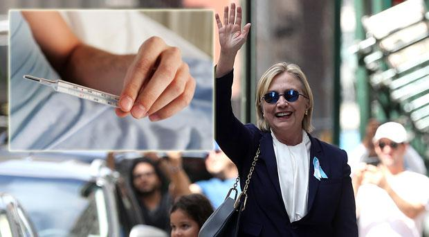 Hilary Clinton has been struck down with the infection in recent days