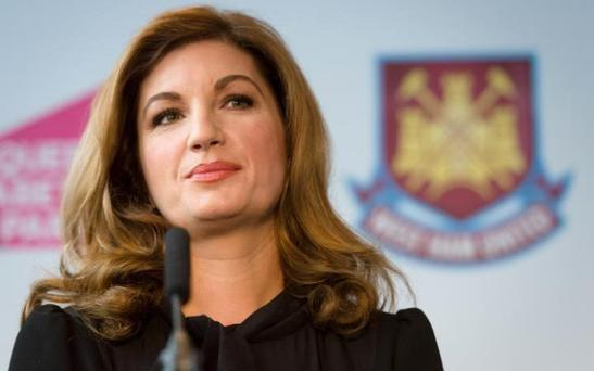 West Ham United Vice Chairman Karren Brady