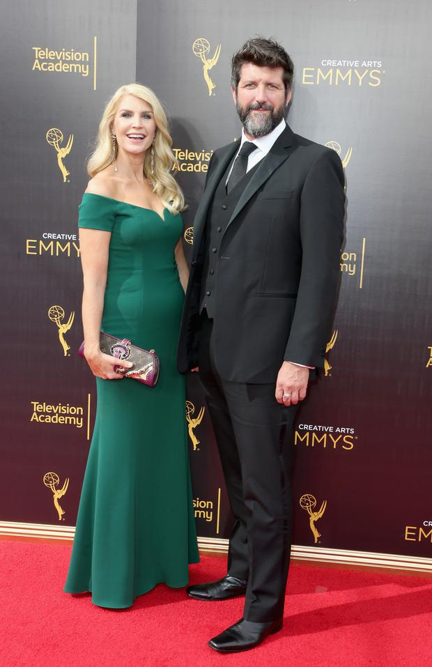 Yvonne Connolly and John Conroy attend the 2016 Creative Arts Emmy Awards at Microsoft Theater on September 10, 2016 in Los Angeles, California. (Photo by Frederick M. Brown/Getty Images)